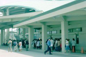 沖縄おでライフェス2016 一般待機列