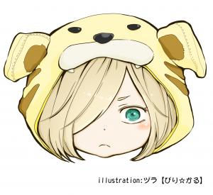 illustration_ヅラ【ぴり☆かる】