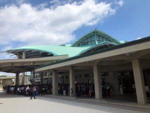 おでかけライブin沖縄スペシャル41 一般待機列の様子